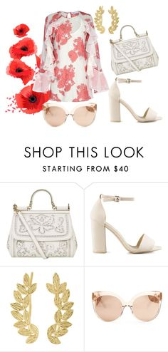"""Little Miss Sicily"" by rita-coppola on Polyvore featuring moda, Dolce&Gabbana, Nly Shoes, Eddera, Linda Farrow e Alice McCall"