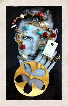 Collar de la diseñadora venezolana María Alejandra Peña