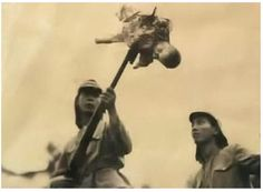 Chinese beheaded by a Japanese officer - The Nanking Massacre or Nanjing Massacre, also known as the Rape of Nanking. Description from pinterest.com. I searched for this on bing.com/images