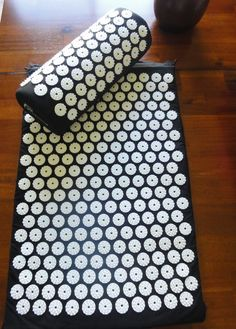 Bed of Nails or Acupressure Mat with Pillow Back by greenOMgreen, $37.01