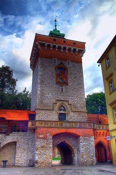 St. Florian's Gate, Kraków I went under that archway!