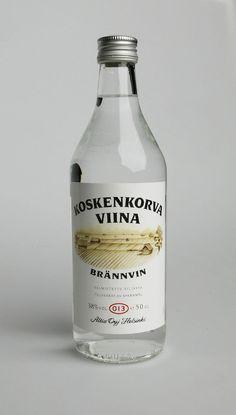 Finland - Koskenkorva Viina History Of Finland, Lakes, Vodka Bottle, Liquor, Countries, Nostalgia, History, Rivers