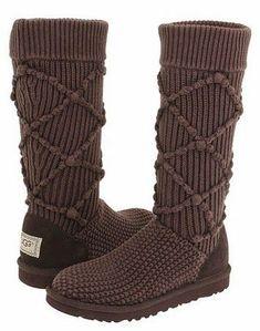 Comfy Ugg #Knit Long #Boots