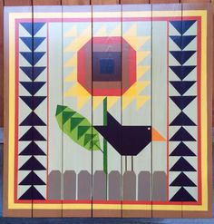 Blackbird Barn Quilt