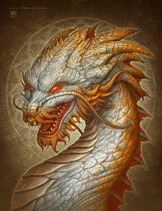 Oriental Dragon by kerembeyit on DeviantArt