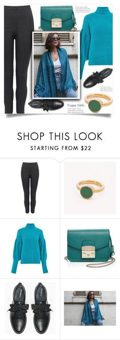 """""""Casual!"""" by samra-bv ❤ liked on Polyvore featuring Topshop, Furla, Max&Co. and vintage"""