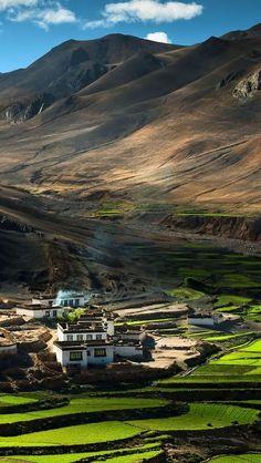 Tibet Himalayas.  Travel