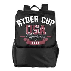 Classic Ryder Cup Champions 2016 USA Travel School Backpack * You can get additional details at the image link.