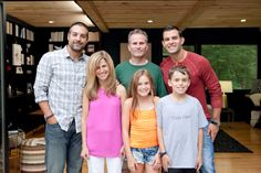 #Bestof #CousinsUndercover air date: Oct 13. Anthony and John pose with the Kennan family.