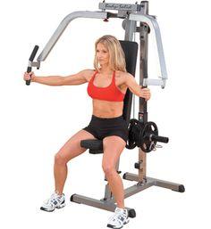 Body-Solid Pec Dec GPM65 posilňovač prsných svalov. Dve horné ramená s premenlivým nastavením umožňujú dokonalé prispôsobenie stroje a jedinečné navrhnutie páky dokonale vytvarujú prsné svaly. Body-Solid GPM65 s veľmi hustou DuraFirm vypchávkou Vám poskytne maximálne pohodlie pri posilňovaní Vašich svalov. Stroj je doporučovaný pre všetky typy posilňovien.