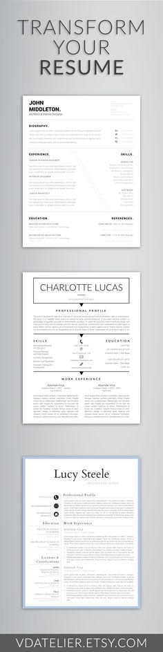 Pretty Resume\/Cover Letter The Elektrik Co Pinterest Letters - pretty resume templates