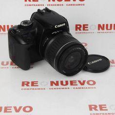 CANON EOS 400D con 18-55mm#fotografía# de segunda mano#canon
