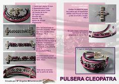 Quienlodira Creations: Bracelet and Cleopatra scheme