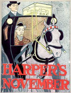 """Une de novembre du magazine """"Harper's"""""""