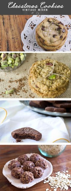 8 of my favorite Christmas Cookie Recipes!