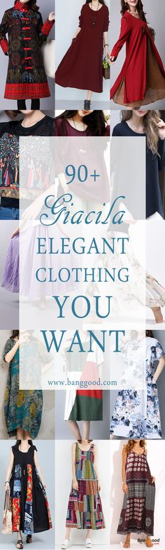 Gracila Clothing Collection, Hot sale and  New Arrival, Start From US$13.49. Shop with fun! Women's Clothes, Women's Dresses, Women's Fashion.