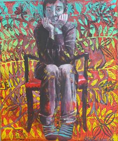 girl on chair by cate edwards, via Flickr