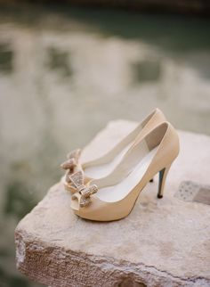 Bridal Shoes from @bellabelleshoes