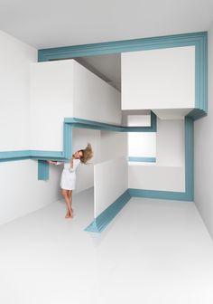 Современный интерьер квартиры, дома. Коллекция лепного декора 2016 г.: Modern от Orac Decor