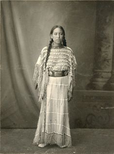 Strong Beautiful Native American Indian Woman St Louis World's Fair 1904