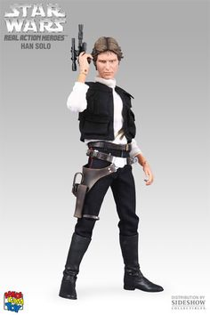 "MEDICOM TOY RAH Real Action Heroes STAR WARS A New Hope HAN SOLO 1//6 12/"" figure"