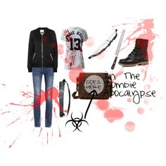 """My Zombie Apocalypse Outfit"" by mrshoran1328 on Polyvore"