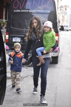 Camila Alves McConaughey out and about with her children http://www.icelebz.com/events/camila_alves_mcconaughey_out_and_about_with_her_children/photo1.html