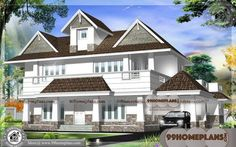 Small Modern Homes & Double Story House Front Design Collections Best Small House Designs, Best Modern House Design, House Front Design, Modern House Plans, Modern Houses Pictures, House Plans With Pictures, House Design Pictures, Beautiful Small Homes, Small Modern Home