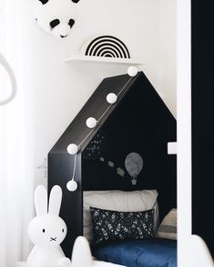 Marvelous  Kinderzimmer Boysroom Monochrome Miffy MrMaria