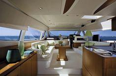 Internal view Ferretti Yachts - Ferretti 530 #yacht #luxury #ferretti