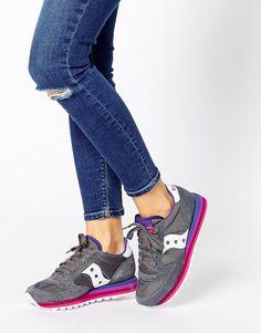 2016 Zapato Deportivo Cordon Saucony Jazz O Rainbow Charcoal