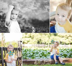 2 year old photos for a little boy. Children photos with lollipop