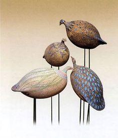 Ceramic Garden Birds - Matusan