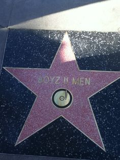 January 2012 Award winning R&B group Boyz II Men received the 2,465th Star on the Hollywood Walk Of Fame.
