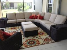 Florida Lanai designed by Rose Custom Interiors