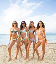 How Victoria's Secret Angels Get Bikini Body Ready via @byrdiebeauty