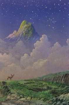 mountainside by Ebineyland.deviantart.com on @DeviantArt