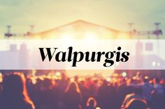 And 'War Pigs' was almost 'Walpurgis'