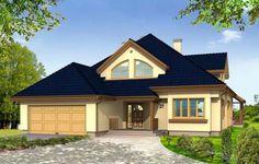 Projekt Hornówek to dom jednorodzinny dla rodziny cztero-pięcioosobowej. Wyróżnia go o atrakcyjna, rozłożysta bryła z łagodnym wielospadowym dachem, w który wkomponowano duże lukarny. Obszerny podcień frontowy i weranda od strony ogrodu chronią przed deszczem lub zbyt ostrym słońcem. Wnętrze zaprojektowano z podziałem na część dzienną - otwartą i jednoprzestrzenną, łączącą się poprzez szerokie przeszklenia z ogrodem, oraz część gospodarczą z garażem dwustanowiskowym.