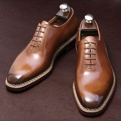 hochzeitsschuhe herren Handmade Mens Dress Oxfords Shoes Good year welted leather formal shoes for mens Mens Brown Leather Shoes, Suede Leather Shoes, Leather And Lace, Cowhide Leather, Calf Leather, Black Suede, High Ankle Boots, Shoe Boots, Brown Dress Shoes