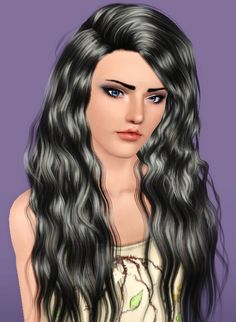 Stealthic Sleepwalking hairstyle retextured by Forever And Always for Sims 3 - Sims Hairs - http://simshairs.com/stealthic-sleepwalking-hairstyle-retextured-by-forever-and-always/