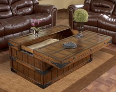 Captivating Rustic Coffee Table