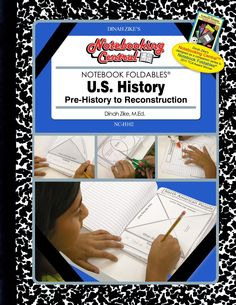 Dinah-Might Adventures Store - Dinah Zike's Notebooking Central Notebook Foldables US History: Pre-history to Early Reconstruction  , $16.95 (http://dinah.mybigcommerce.com/dinah-zikes-notebooking-central-notebook-foldables-us-history-pre-history-to-early-reconstruction/)