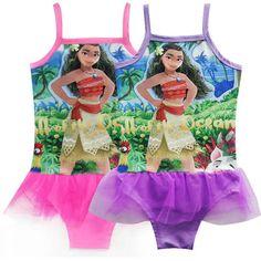 6d69f4839cc0e Cheap children dress, Buy Quality costume girl directly from China dress  kids Suppliers: 2017 Baby Girls Bikini Bathing Suit Moana Swimsuit Children  Dress ...