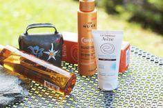Parée pour l'été ou besoin de quelques conseils pour affronter le soleil ? Inspirez-vous de ma routine solaire pour cheveux, visage et corps !