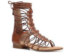 Mia Limited Edition Czar Gladiator Sandal leather/elastic cognac, black .75h (99.95) NA