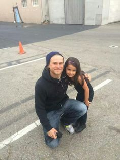 Charlie and a lil fan <3