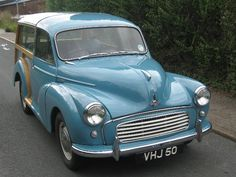 Morris Minor 1000 Traveller Modern Classic, Classic Cars, Morris Minor, Jaguar E Type, Ford Models, Travel, Trips, Traveling, Vintage Cars