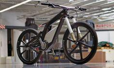 A incrível bicicleta elétrica da Audi