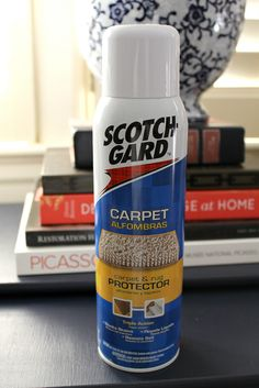I am going to Scotch Guard the heck out of my new hallway runners and area rug! Home Carpet, Diy Carpet, Rugs On Carpet, Carpets, Wall Behind Couch, Room Rugs, Area Rugs, Discount Home Decor, Painting Trim